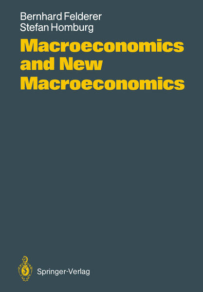 Macroeconomics and New Macroeconomics - Coverbild