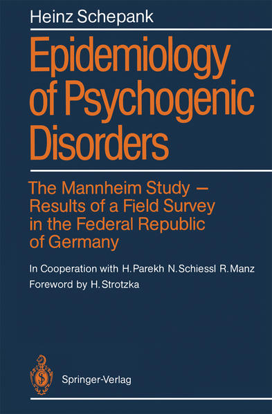 Epidemiology of Psychogenic Disorders - Coverbild