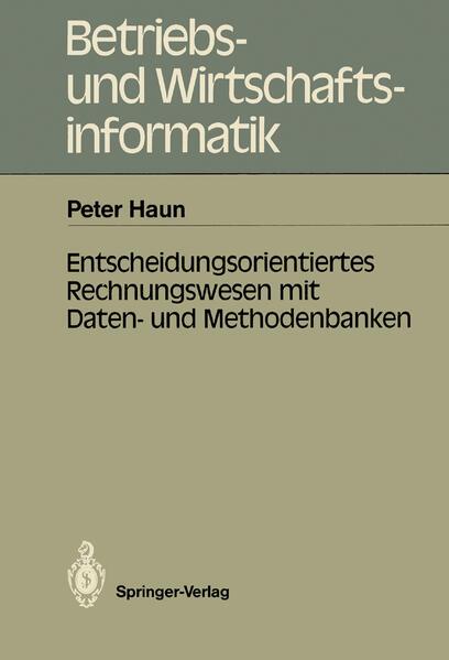 Entscheidungsorientiertes Rechnungswesen mit Daten- und Methodenbanken - Coverbild