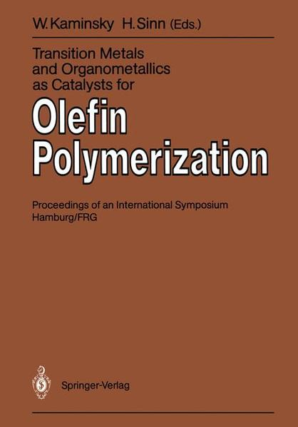 Transition Metals and Organometallics as Catalysts for Olefin Polymerization - Coverbild