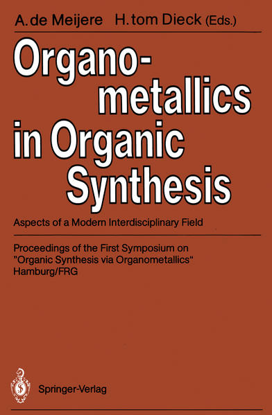 Organometallics in Organic Synthesis - Coverbild