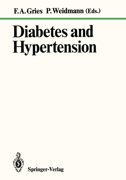 Diabetes and Hypertension - Coverbild