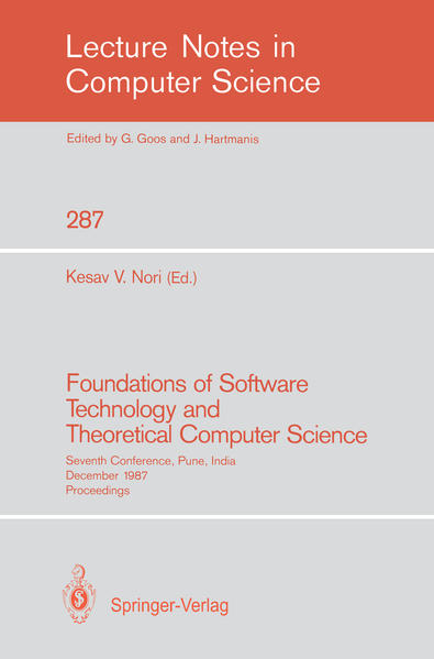 Foundations of Software Technology and Theoretical Computer Science - Coverbild