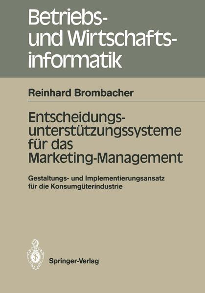 Entscheidungs-unterstützungssysteme für das Marketing-Management - Coverbild