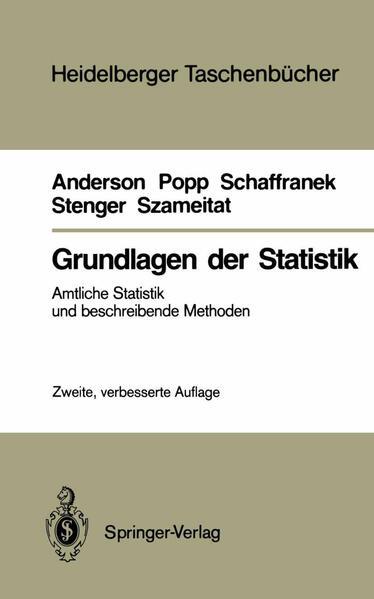 Grundlagen der Statistik - Coverbild