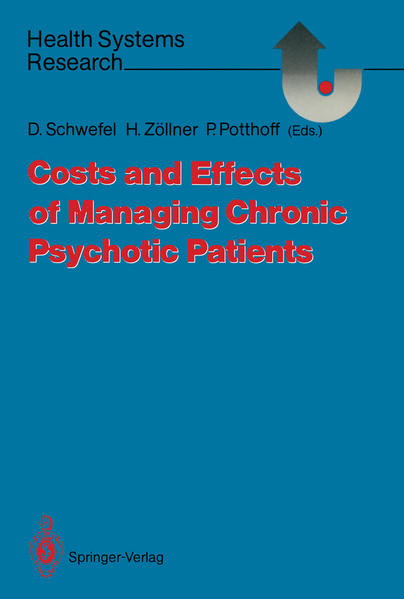 Costs and Effects of Managing Chronic Psychotic Patients - Coverbild