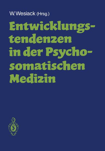 Entwicklungstendenzen in der Psychosomatischen Medizin - Coverbild
