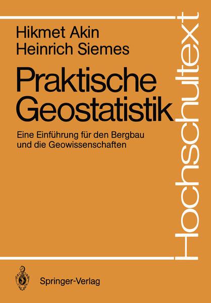 Praktische Geostatistik - Coverbild