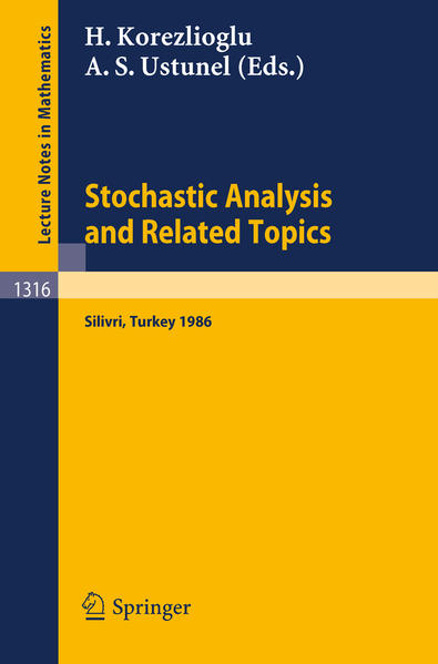 Stochastic Analysis and Related Topics - Coverbild