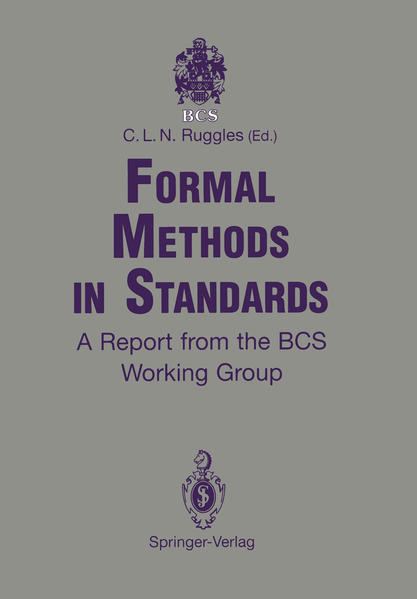 Formal Methods in Standards - Coverbild