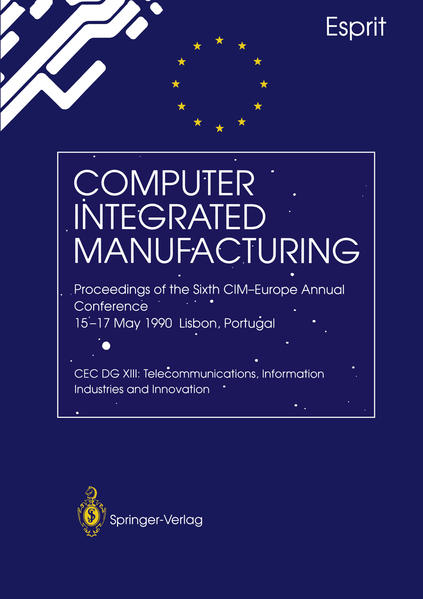 Computer Integrated Manufacturing - Coverbild