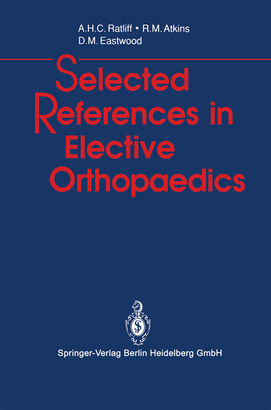 Selected References in Elective Orthopaedics - Coverbild