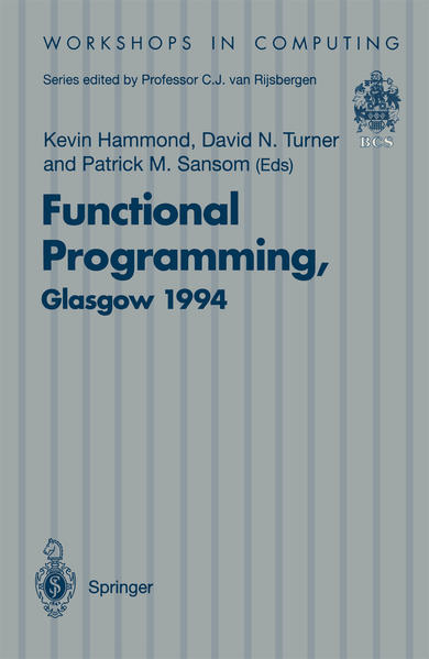 Functional Programming, Glasgow 1994 - Coverbild