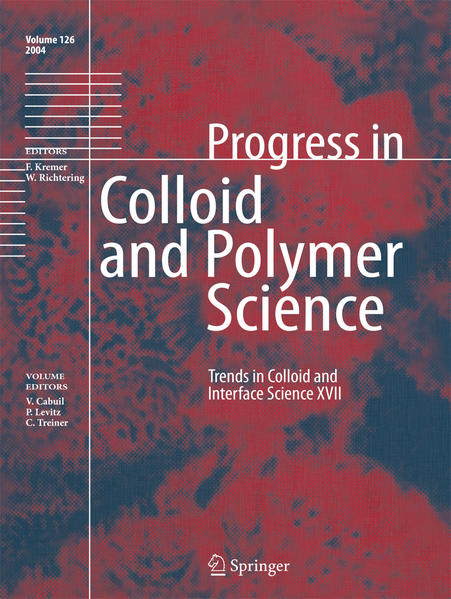 Trends in Colloid and Interface Science XVII - Coverbild