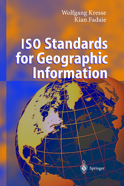 ISO Standards for Geographic Information - Coverbild