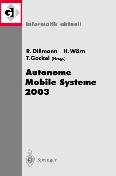 Autonome Mobile Systeme 2003 - Coverbild