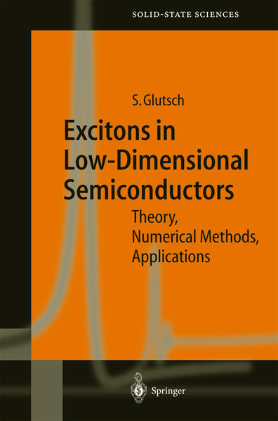 Excitons in Low-Dimensional Semiconductors - Coverbild