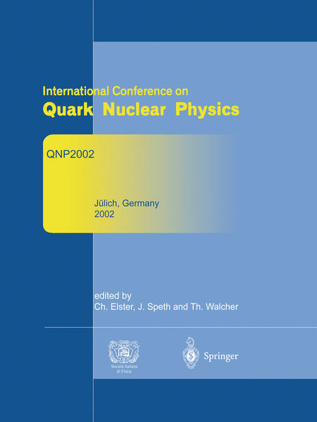 Refereed and selected contributions from International Conference on Quark Nuclear Physics - Coverbild