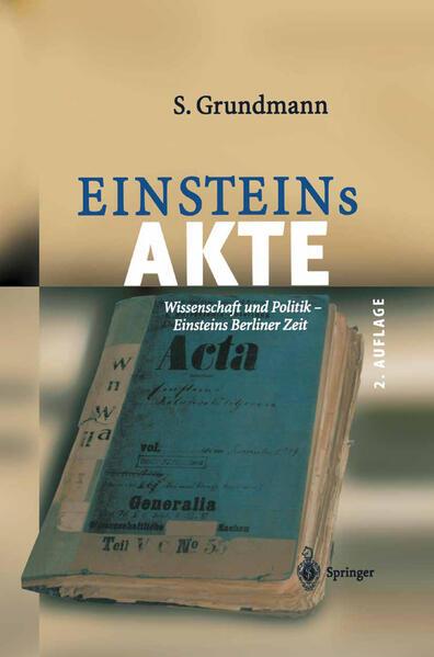 Einsteins Akte - Coverbild