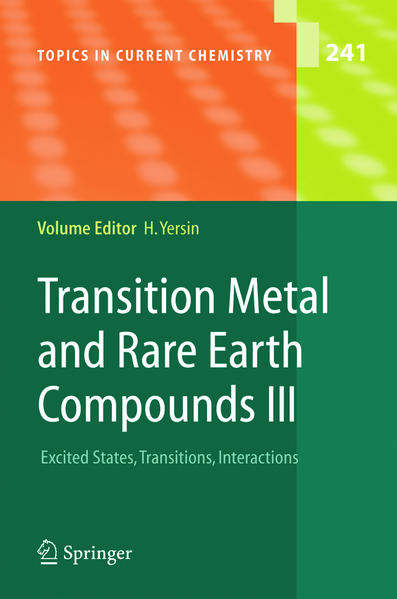 Transition Metal and Rare Earth Compounds III - Coverbild