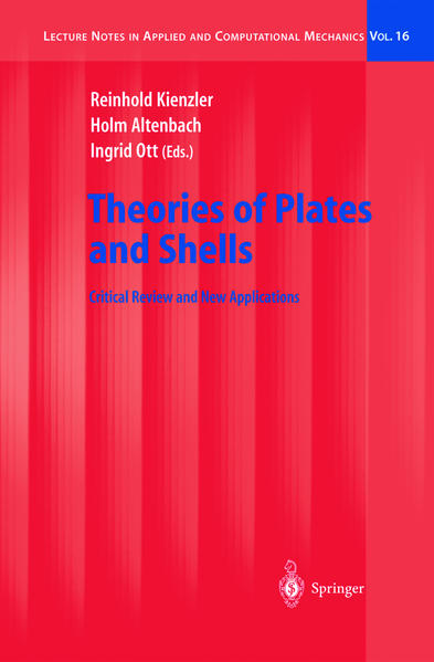 Theories of Plates and Shells - Coverbild