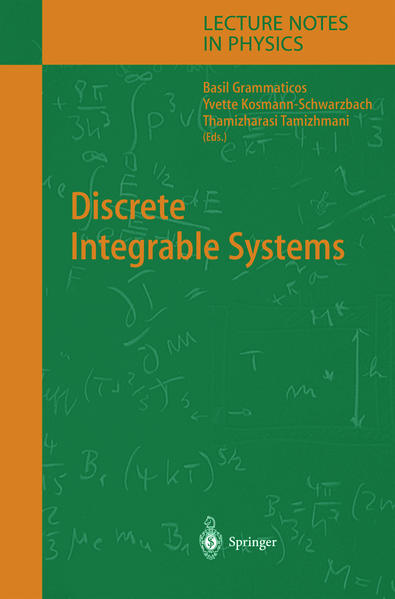 Discrete Integrable Systems - Coverbild