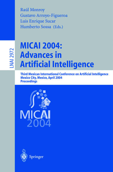 MICAI 2004: Advances in Artificial Intelligence - Coverbild