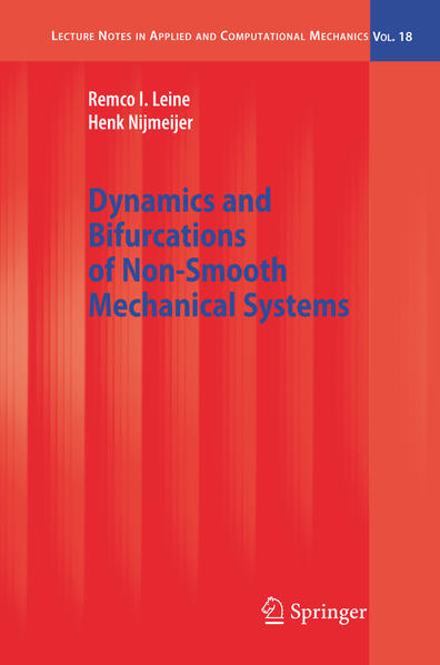 Dynamics and Bifurcations of Non-Smooth Mechanical Systems - Coverbild