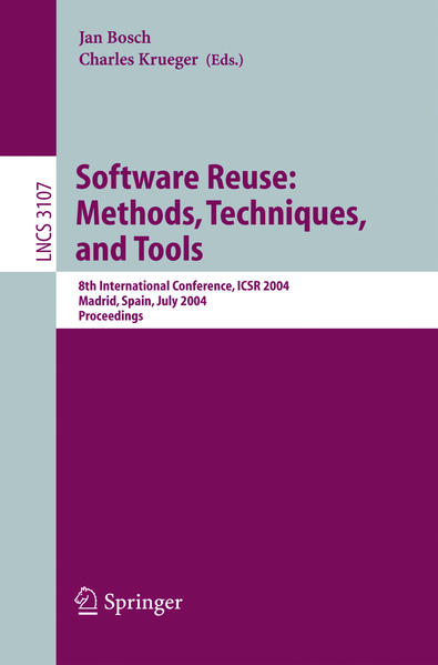 Software Reuse: Methods, Techniques, and Tools - Coverbild