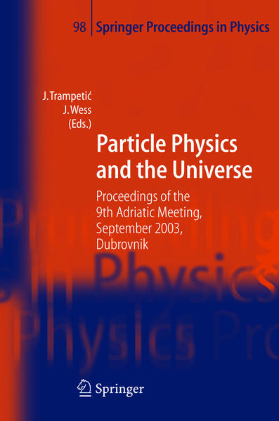 Particle Physics and the Universe - Coverbild