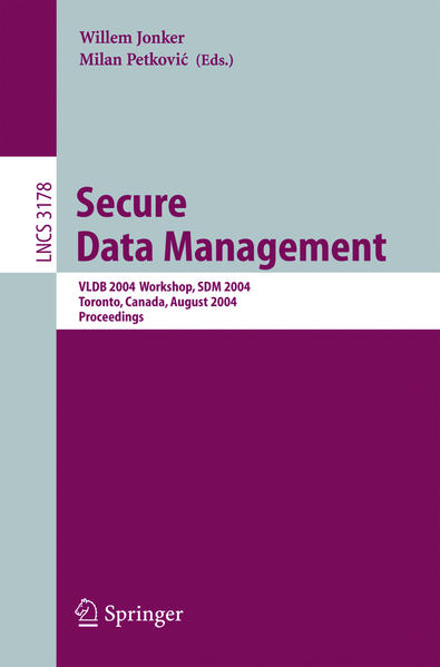 Secure Data Management - Coverbild