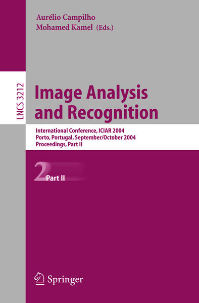 Image Analysis and Recognition - Coverbild