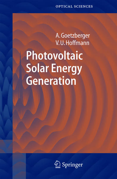 Photovoltaic Solar Energy Generation - Coverbild