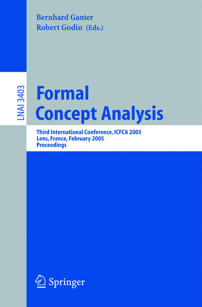 Formal Concept Analysis - Coverbild