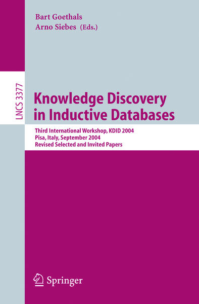 Knowledge Discovery in Inductive Databases - Coverbild
