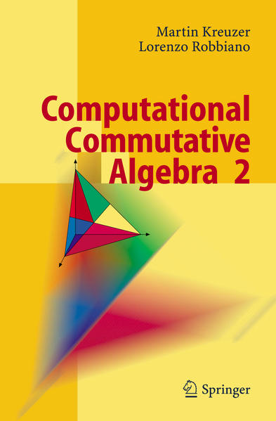 Computational Commutative Algebra 2 - Coverbild