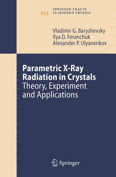 Parametric X-Ray Radiation in Crystals - Coverbild