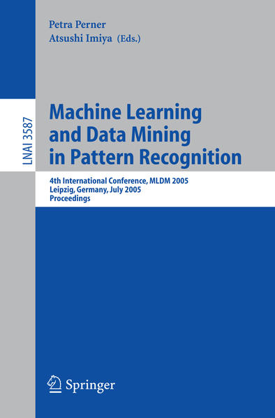 Machine Learning and Data Mining in Pattern Recognition - Coverbild