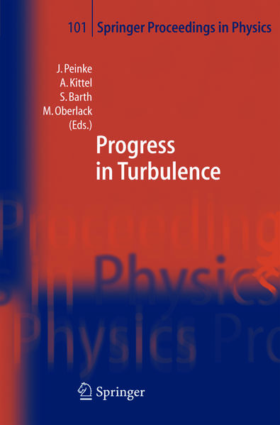Progress in Turbulence - Coverbild
