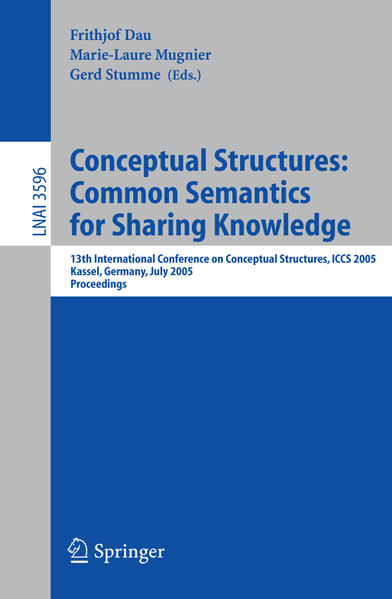 Conceptual Structures: Common Semantics for Sharing Knowledge - Coverbild