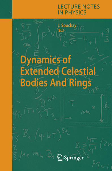 Dynamics of Extended Celestial Bodies And Rings - Coverbild
