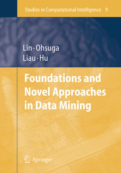 Foundations and Novel Approaches in Data Mining - Coverbild