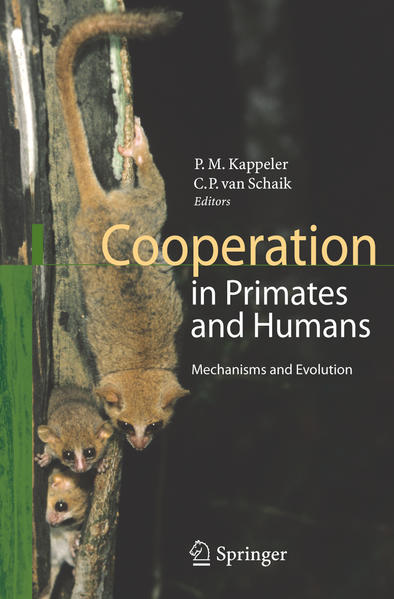 Cooperation in Primates and Humans - Coverbild