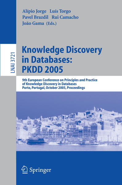 Knowledge Discovery in Databases: PKDD 2005 - Coverbild
