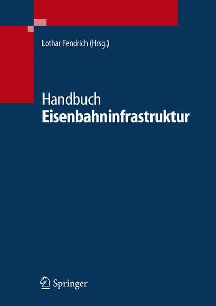 Handbuch Eisenbahninfrastruktur - Coverbild
