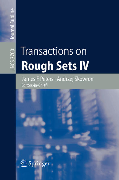 Transactions on Rough Sets IV - Coverbild