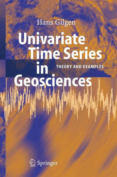 Univariate Time Series in Geosciences - Coverbild
