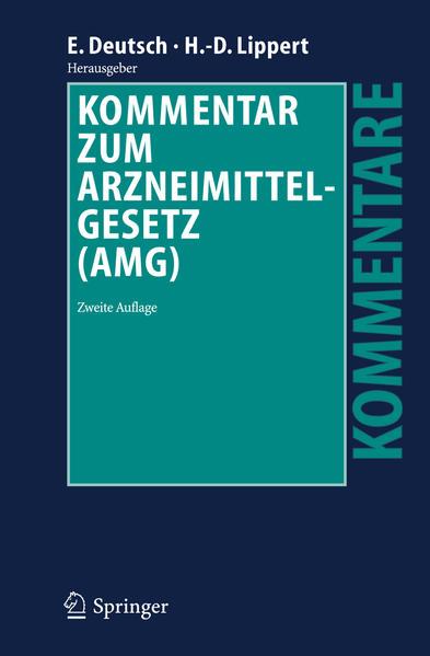 Kommentar zum Arzneimittelgesetz (AMG) - Coverbild