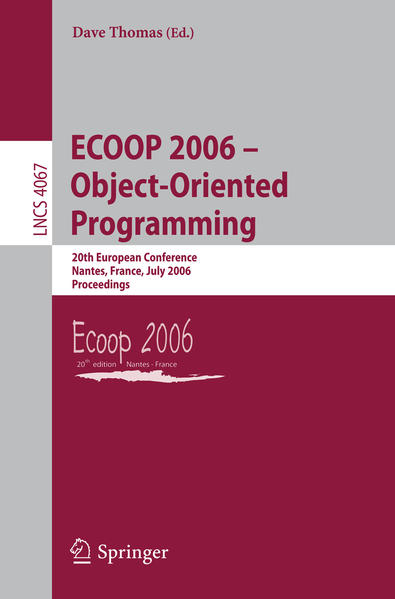 ECOOP 2006 - Object-Oriented Programming - Coverbild