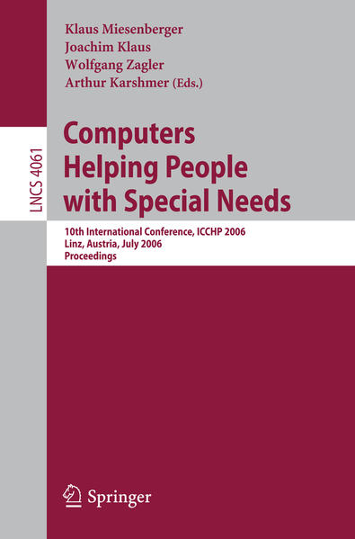 Computers Helping People with Special Needs - Coverbild